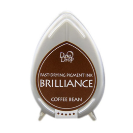 BD-000-054 Dew Drop Brillance Ink Pad Coffee Bean