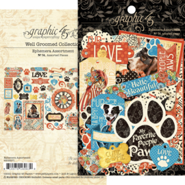 4502271 Graphic 45 Die-cut Assortment Well Groomed