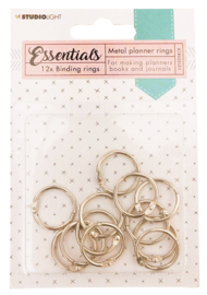 RINGSSL03 Planner Collection - Binding Rings Silver