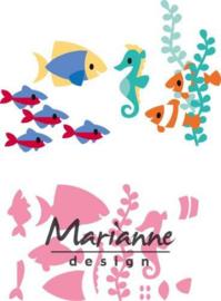 COL1431 Marianne Design Collectables Eline's tropische vissen