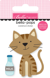BB2282 Bella BLVD Tabby Cat Bella-Pops (2pcs)