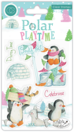 CCSTMP023 Craft Consortium Polar Playtime Clear Stamps