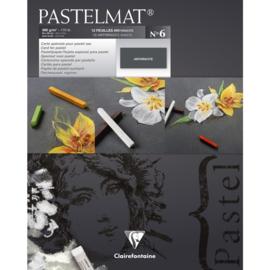 96004C N°6 Pastelmat pad 360g 24x30 Anthracite