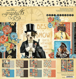 4502266  Graphic 45 12x12 Inch Collection Pack Well Groomed