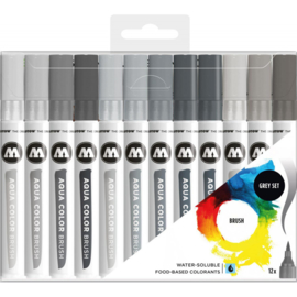 200493 Molotow - Aqua Brush - Set 3