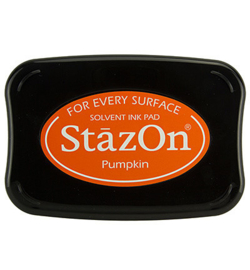 SZ-000-092 Stazon Ink Pad Pumpkin