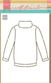 PS8076 Craft Stencil Sweater