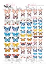 3000/0032 Bella Lulu Knipvel Vlinders