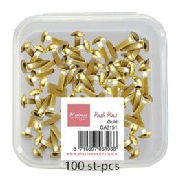 CA3151 Decoratie Push Pins - Goud