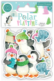 CCWDNS003 Craft Consortium Polar Playtime Wood Shapes