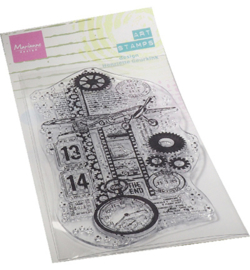 MM1644 Clear Stamp Airplane