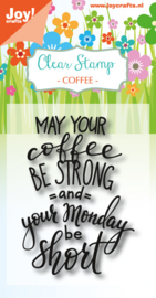 6410/0469 Stempel Set Coffee - Monday