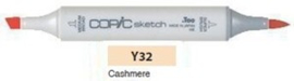 Y32 Copic Sketch Marker Cashmere