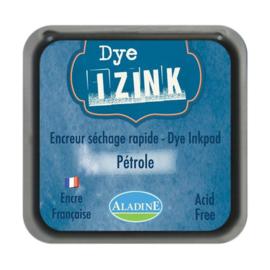19271 Aladine Inkpad Izink Dye Bleu Petrole