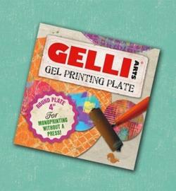 "Gelli Printing Plate - 4"" round (10,2cm)"