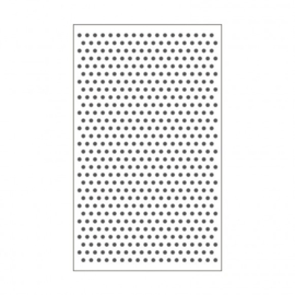 "100604-101 Vaessen Creative embossing folder 3x5"" dots"