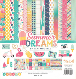 DR126016 Echo Park Summer Dreams 12x12 Inch Collection Kit