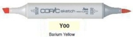 Y00 Copic Sketch Marker Barium Yellow
