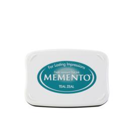 ME-000-602 Memento Ink Pad Teal Zeal
