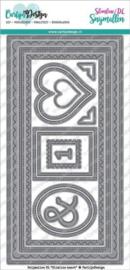 CDSN-0057 CarlijnDesign Snijmallen DL Slimline Kaart
