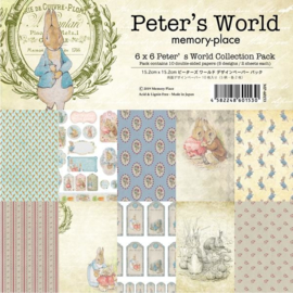 MP-60153 Memory Place Peter's World 6x6 Inch Paper Pack