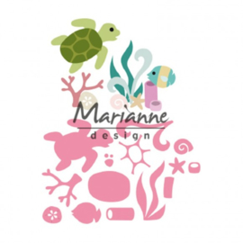 COL1468 Collectables sealife by Marleen
