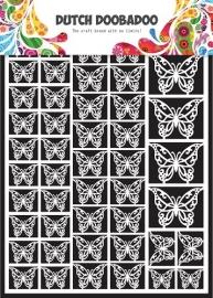 472.948.007 Laser Paper Art A5 wit Butterflies