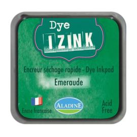 19272 Aladine Inkpad Izink Dye Vert Emeraude