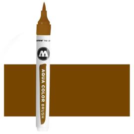 019 Molotow Aqua Color Brush  Brown