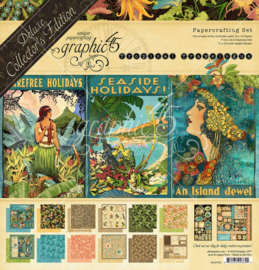 4501723 Raining Tropical Travelogue Collector's Edition