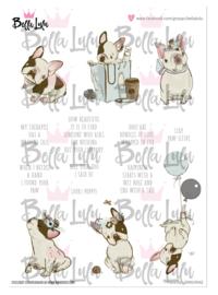 3000/0042 Bella Lulu Knipvel Frenchy