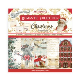 SBBS44 Stamperia Romantic Christmas 8x8 Inch Paper Pack