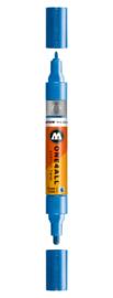 224 ONE4ALL Acrylic twin marker Metallic blue
