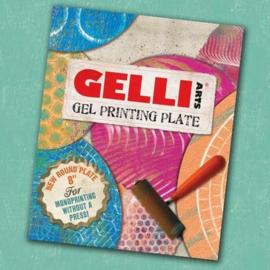 GEL8R Gelli Arts - Gel Printing Plate rond 20cm