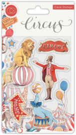 CCSTMP033 Craft Consortium Circus The Circus Clear Stamps