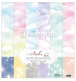 MP-60451 Memory Place Sparkly Sky 12x12 Inch Paper Pack