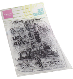 MM1643 Clear Stamp Toys for boys