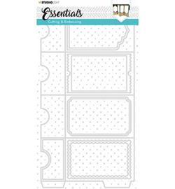 STENCILSL255 Emb.Die Cut Essentials nr.255
