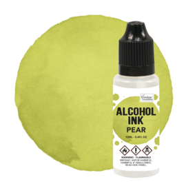 CO727304 Couture Creations Alcohol Ink Pear