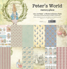 MP-60154 Memory Place Peter's World 12x12 Inch Paper Pack