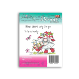 PD8071 Polkadoodles There's Gnome Body Like You Clear Stamps