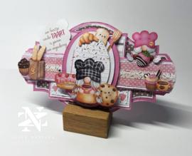3000/0099 Bella Lulu Knipvel Happy Sweet Cupcake