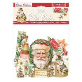 DFLDCP09 Stamperia Classic Christmas Clear Die Cuts