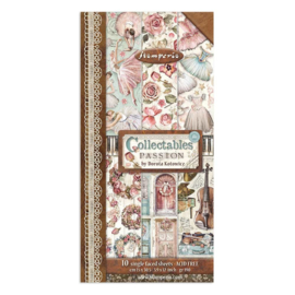 SBBV02 Stamperia Passion 6x12 Inch Paper Pack