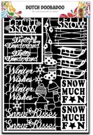 472.948.034 Laser Paper Art A5 wit Winter