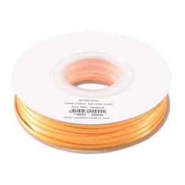 301002-5020 Vaessen Creative • Satijnlint dubbel 3 mm 100m Geelgoud