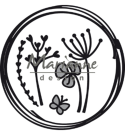 CR1468 Marianne Design Craftables Doodle circle