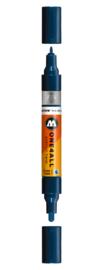 027 ONE4ALL Acrylic twin marker Petrol