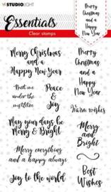 SL-ES-STAMP88 Studio Light Clear Stamp Christmas Essentials