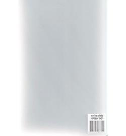 NPBW001 - White Plate for PressBoss